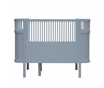 Sebra Bed bedstead forest lake blue
