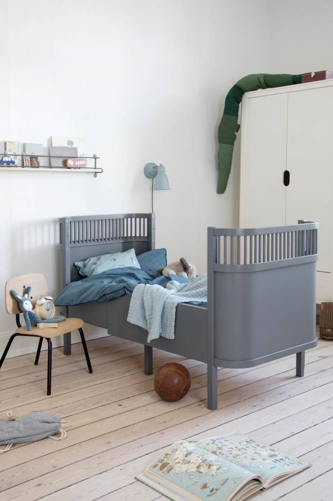 Seriøst Sebra Kili babybed junior bed grey - LIVING AND CO. TG-43