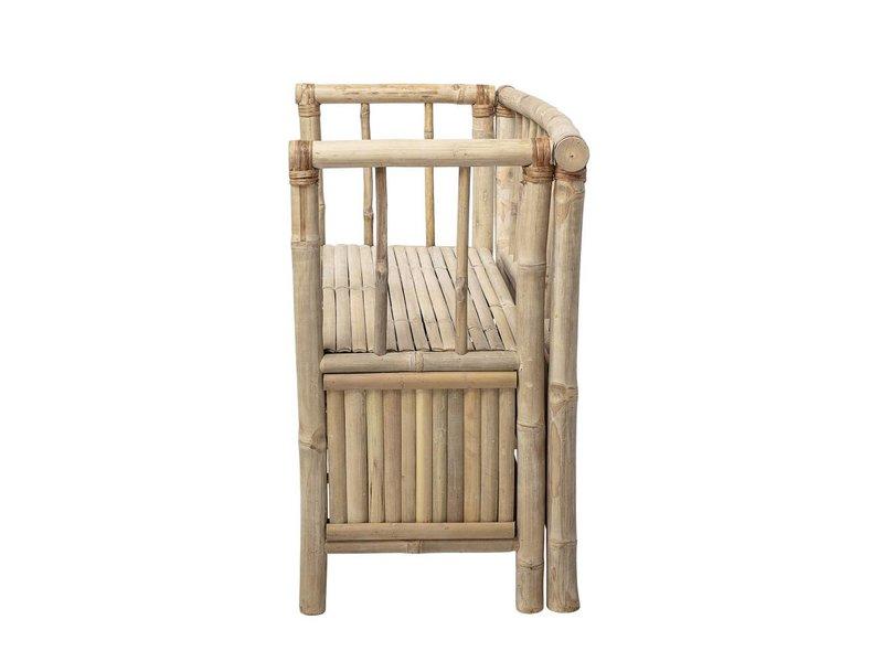 Bloomingville Mini Bambu bänk med förvaringsfack