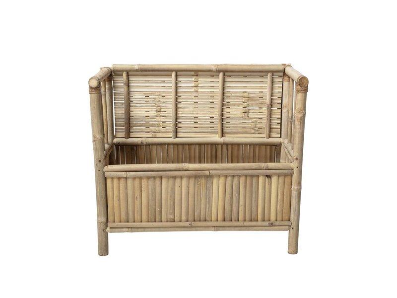 Bloomingville Mini Bamboe bank met opbergbak