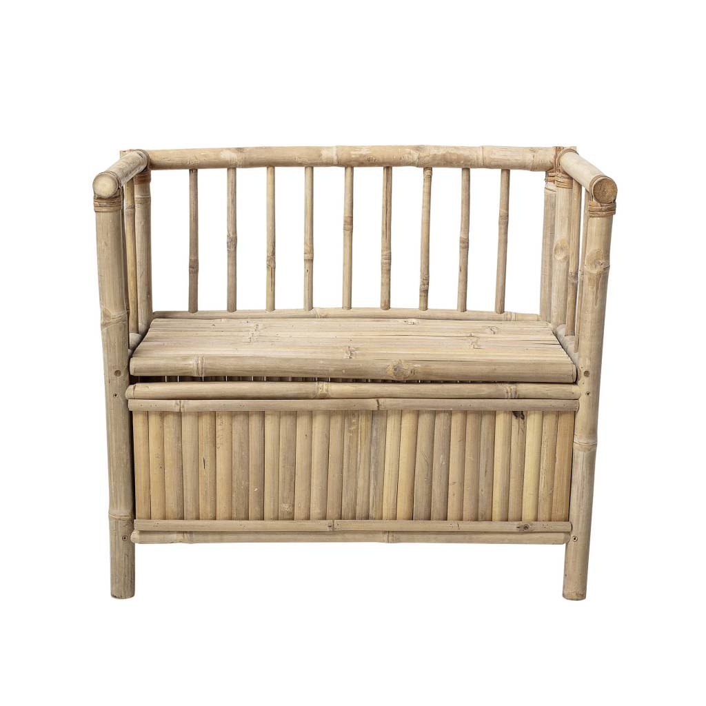 Bloomingville Mini Bamboo Bench With Storage Living And Co