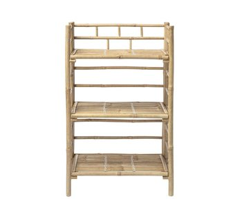 Bloomingville Mini Bamboo cupboard with shelves