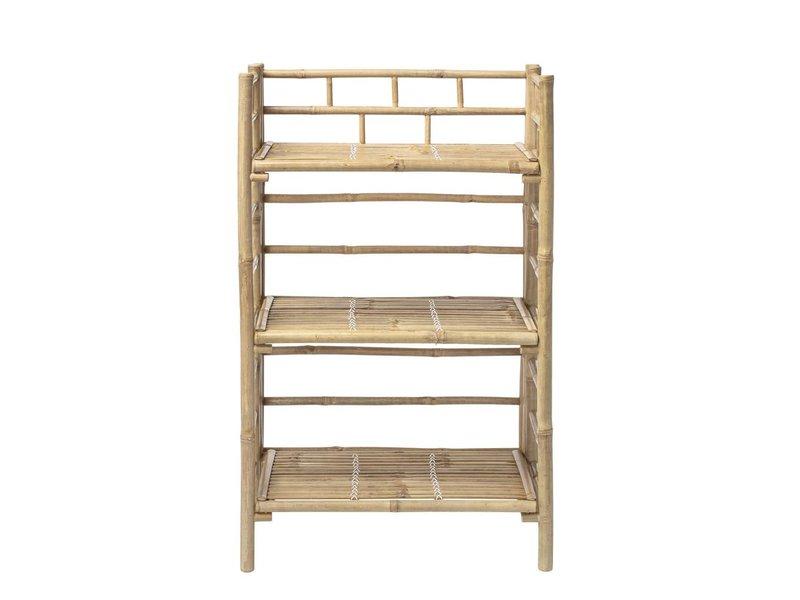 Kast Met Planken : Bloomingville mini bamboe kast met planken living and co