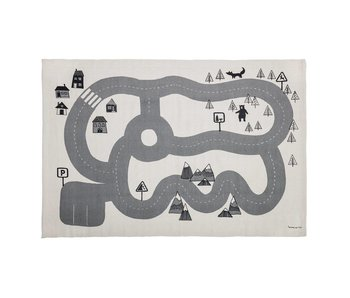 Bloomingville Mini Tapis gris