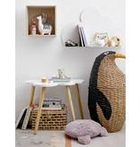 Bloomingville Mini Korg med pingvin med lock