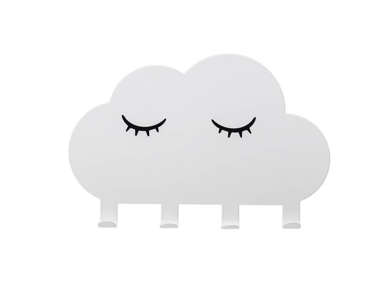 Bloomingville Mini Coats rack vit metall moln