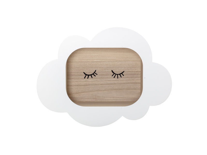 Bloomingville Mini Display case cloud white