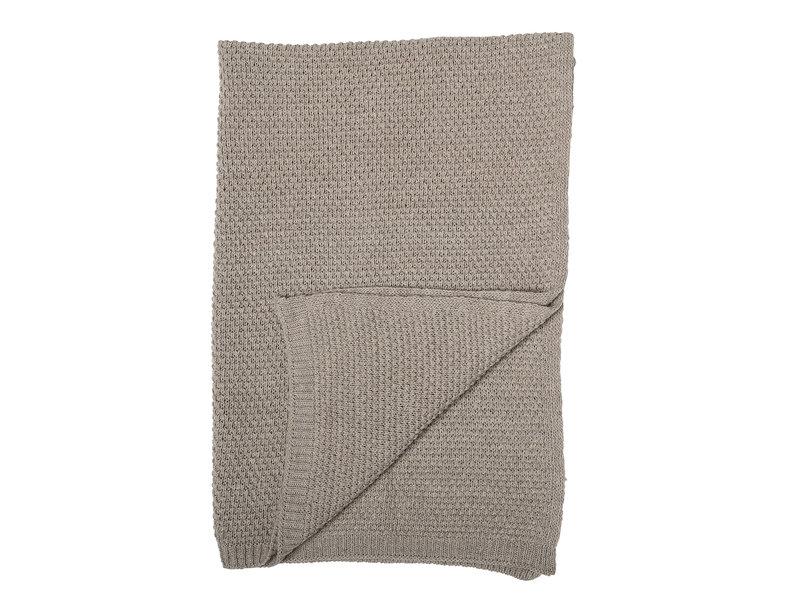 Bloomingville Mini Plaid brown wool
