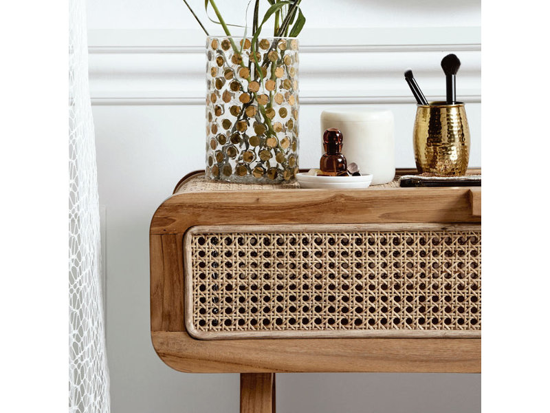Nordal Console table with webbing
