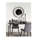 Nordal Dining chair gray velvet