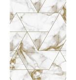 KEK Amsterdam Marmor mosaik tapet guld