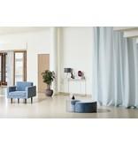 Broste Copenhagen Wind armchair velor pastel blue