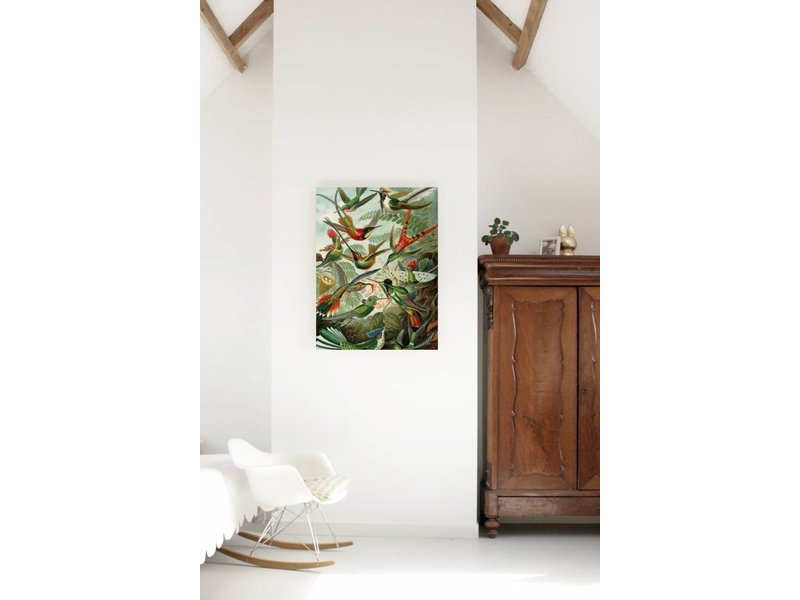 KEK Amsterdam Print on wood Exotic Birds