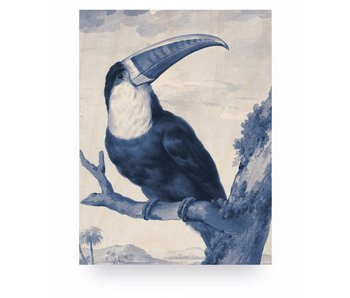 KEK Amsterdam Print on wood Toucan