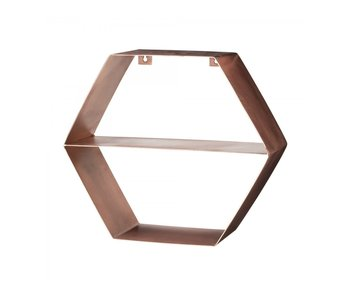 Bloomingville Brass wall shelf