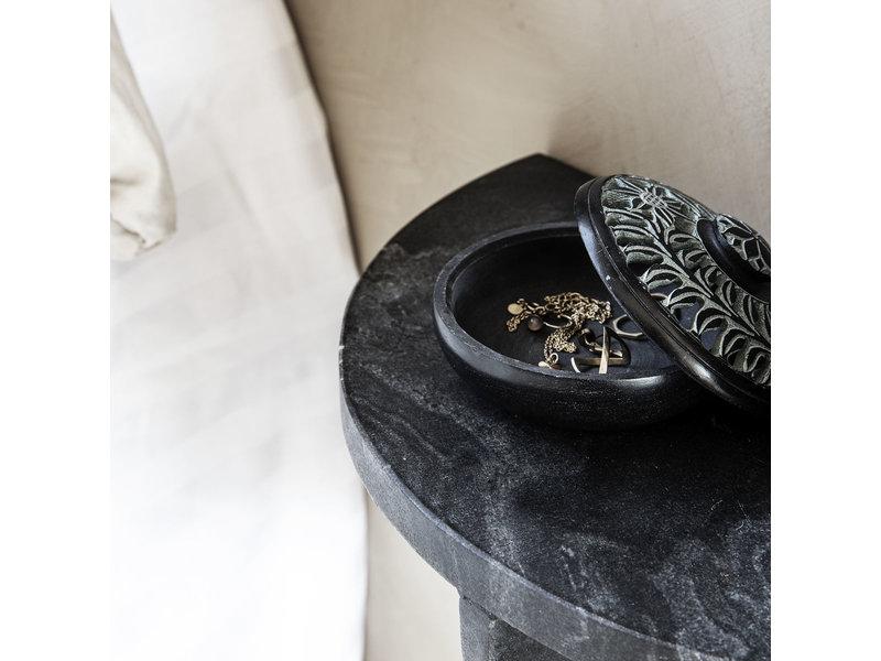 House Doctor Mega væg hylde sort marmor
