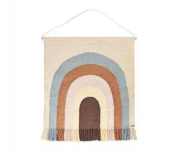 OYOY Suivez la tapisserie arc-en-ciel