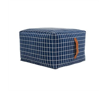 OYOY Pouf Sit on me Dark Blue
