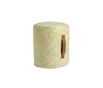 OYOY Pouf Mini Paddy - yellow