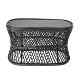Bloomingville Abby Coffee table cane - black