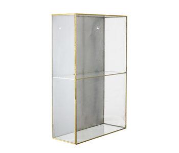 Bloomingville Caja de cristal lia