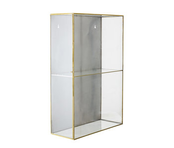 Bloomingville Lia glass case