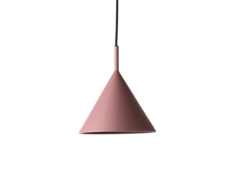 HK-Living Metalen driehoekige hanglamp paars - medium