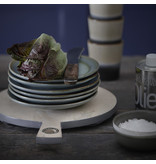 HK-Living Ceramic dessert plate Moss