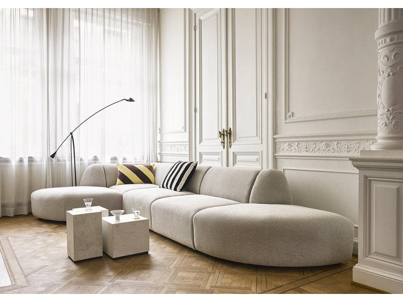 HK-Living Jax element soffamodul hörn smyg ljusgrå