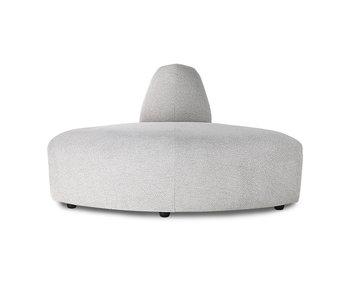 HK-Living Jax element sofa modul hjørne snike lys grå