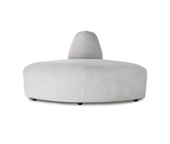 HK-Living Jax elemento sofá módulo esquina sneak gris claro