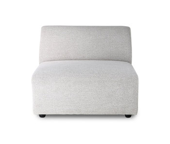 HK-Living Jax element sofa module middle sneak light gray
