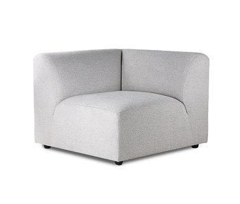 HK-Living Jax element soffa modul vänster smyg ljusgrå