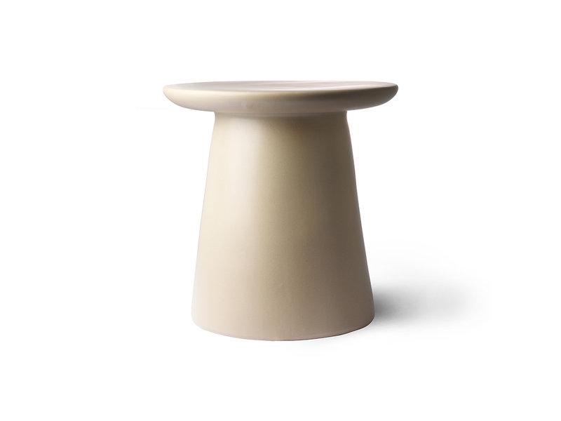 HK-Living Table d'appoint en terre cuite / naturelle