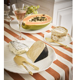 HK-Living Cheese knives gold - 3 pieces