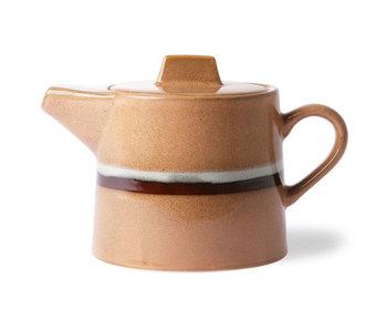 HK-Living Flusso teiera in ceramica anni '70