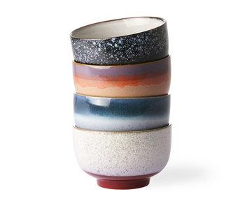HK-Living Keramik 70er Jahre Schüsselset