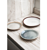 HK-Living Ceramic 70's plates earth - set of 6 pieces