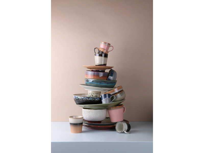 HK-Living Ceramic 70's espresso mug set