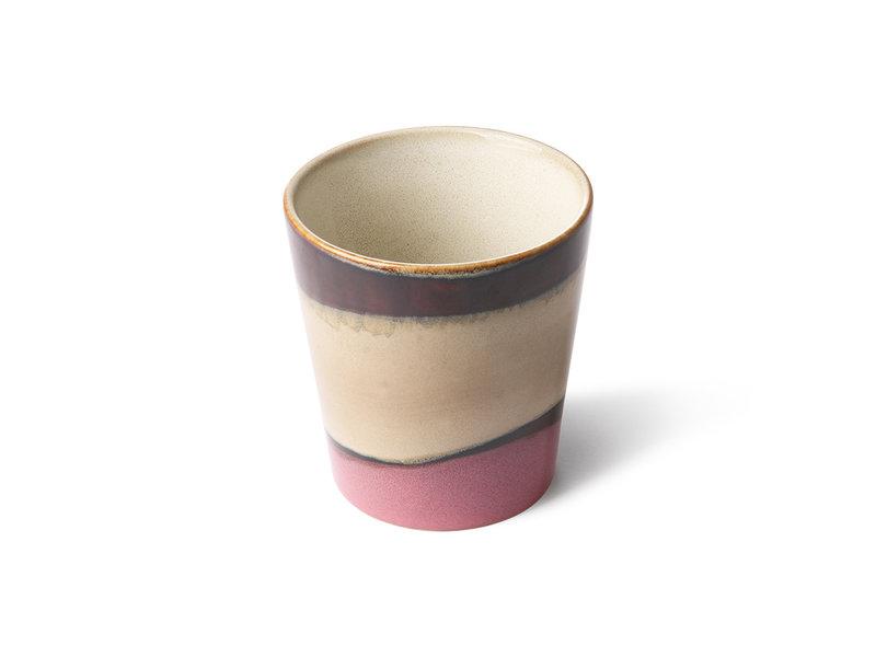 HK-Living Keramik 70's krus hagl - sæt af 6 stk - Copy