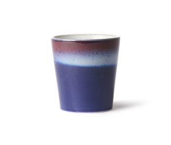 HK-Living Ceramic 70's air mugs - set de 6 pièces