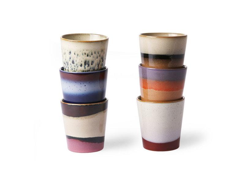 HK-Living Keramik 70s krus sæt