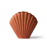 HK-Living Shell ceramic vase brown - medium