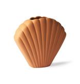 HK-Living Shell ceramic vase terra - large