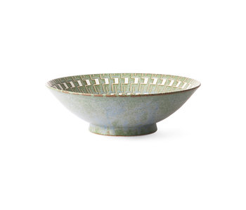 HK-Living Kyoto ceramic japanese salad bowl - set of 2 pieces