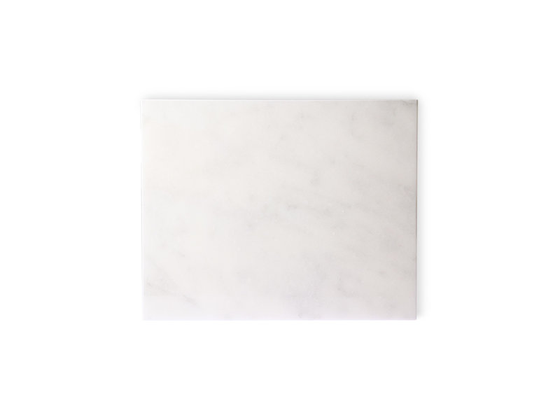 HK-Living Marble cutting board polished white
