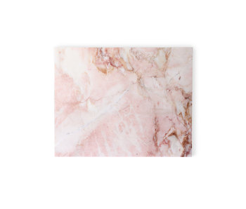 HK-Living Marble cutting board polished pink