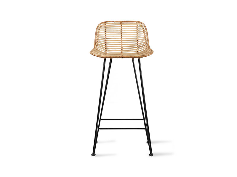 Strange Rattan Barstool Natural Gmtry Best Dining Table And Chair Ideas Images Gmtryco