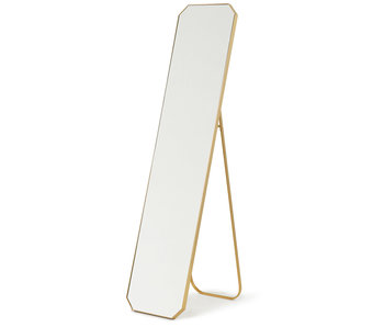 HK-Living Standing mirror brass