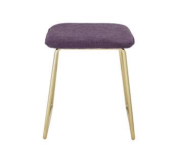Bloomingville Cajsa stool - purple